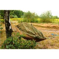 Hamak z moskitierą  khaki  (oliwka)