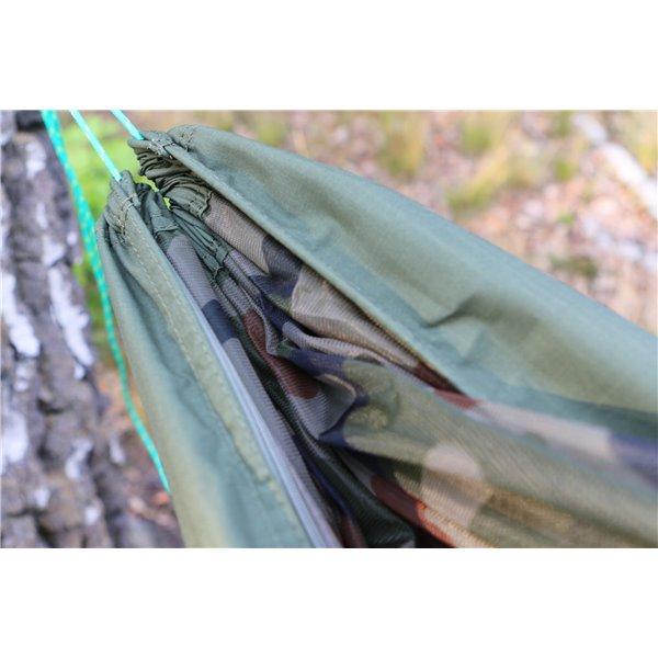 Hamak z moskitierą ciemna zieleń