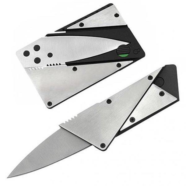 Przenośny mini składany nóż, karta kredytowa