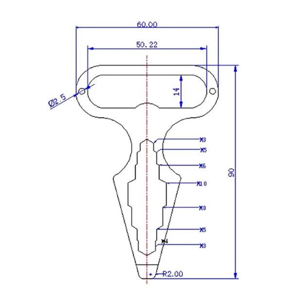EDC wielofunkcyjne narzędzie, klucz, otwieracz do butelek śrubokręt