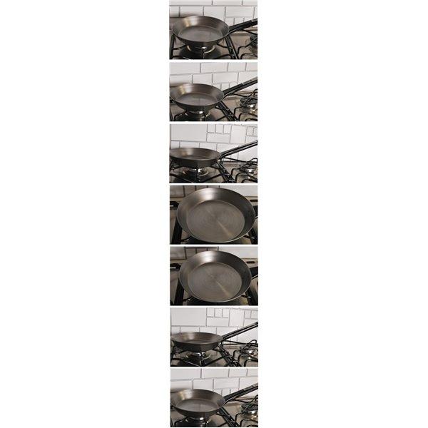 Stalowa patelnia cygańska 18 cm