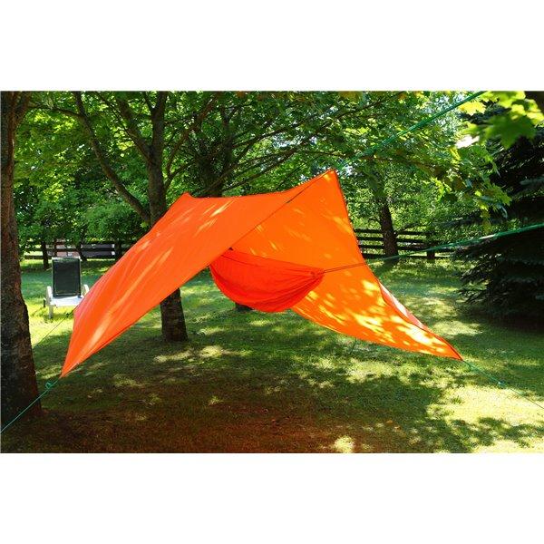 Hamak ultralight pomarańczowy 3x1,5m