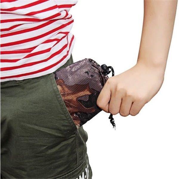 Poncho przeciwdeszczowe kamuflaż