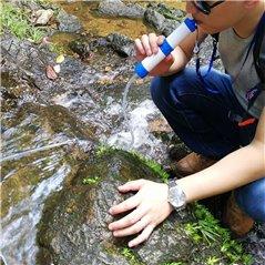 Filtr  surviwalowy do wody z pompką do 1000 l wody