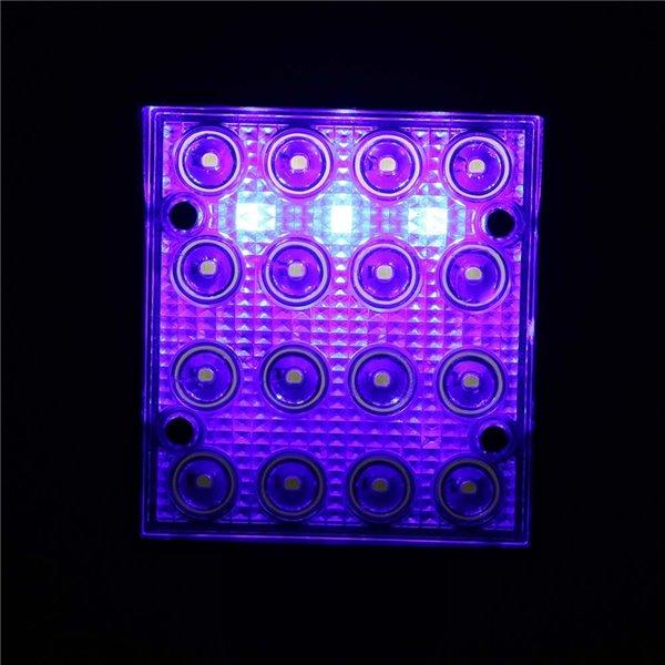 16 diodowa latarka z magnesem