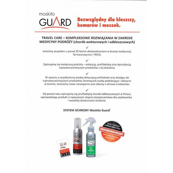 Moskito Guard, mleczko odstraszające komary kleszcze, bez DEET, 75ml