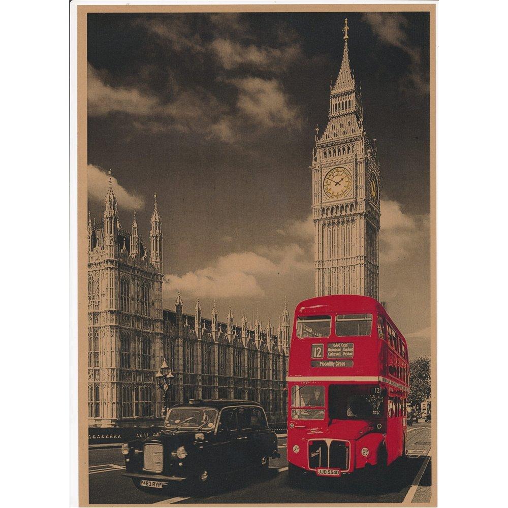 Plakat Londyn 1