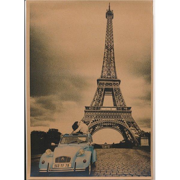Plakat Paryż 1