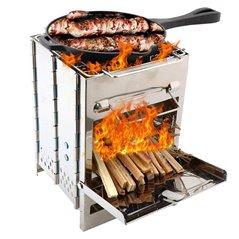 Kuchenka, grill turystyczny składana