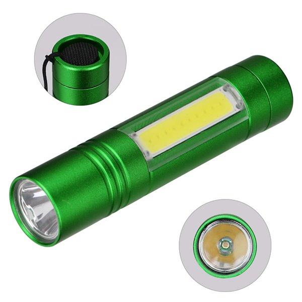 Latarka COB LED