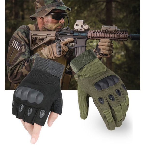 Rękawice Rękawiczki Taktyczne krótkie XL