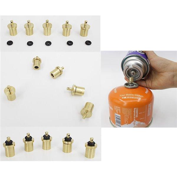 Adapter do napełniania gazem