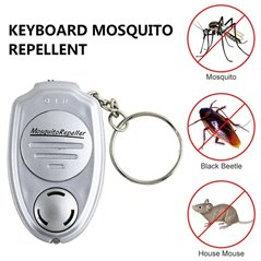 Ultradźwiękowy odstraszacz komarów brelok