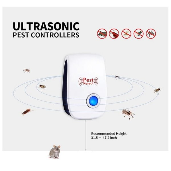 Elektryczny odstraszacz gryzoni i owadów