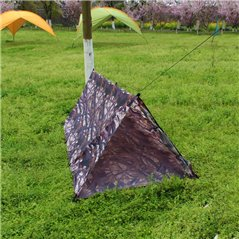 Tarp namiot kamuflaż leśny