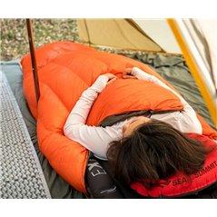 Poncho, śpiwór wypełnienie kaczy puch 260g