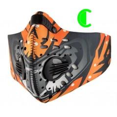 Maska sportowa przeciwsmogowa, przeciwpyłowa