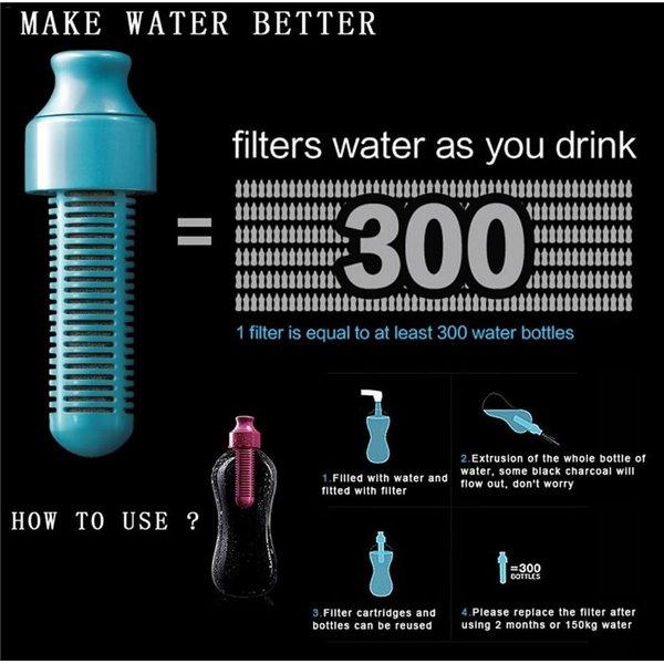 Filtr węglowy do butelki 550 ml