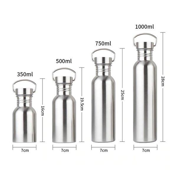 Butelka na wodę ze stali nierdzewnej 1000 ml