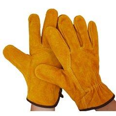 Rękawice robocze ze skóry bydlęcej