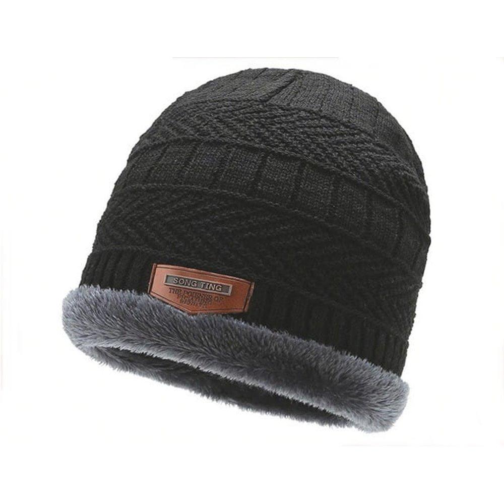 Męska czapka zimowa
