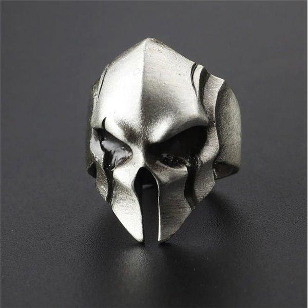 Pierścień Hełm Spartan