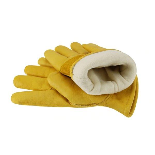 Rękawice skórzane ocieplane