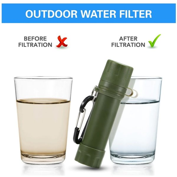 Filtr słomy do wody  na 1000l przystosowany do butelek pet