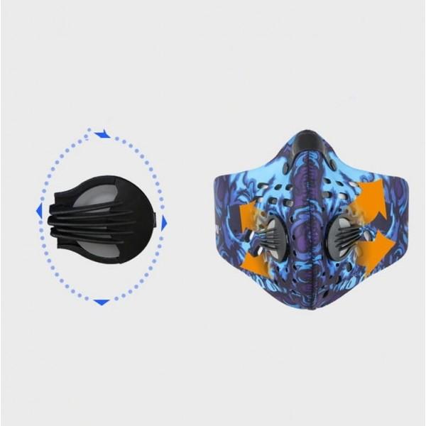 Maska sportowa przeciwsmogowa, przeciwpyłowa (1)