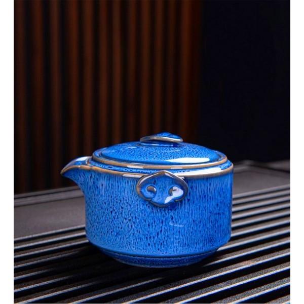 Czajniczek i czarki do herbaty