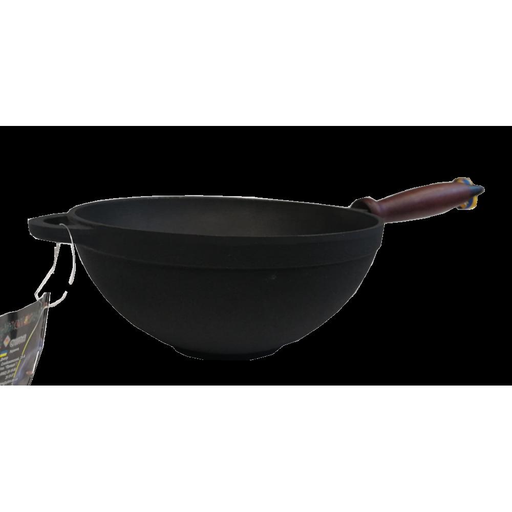 Garnek wok żeliwny z...
