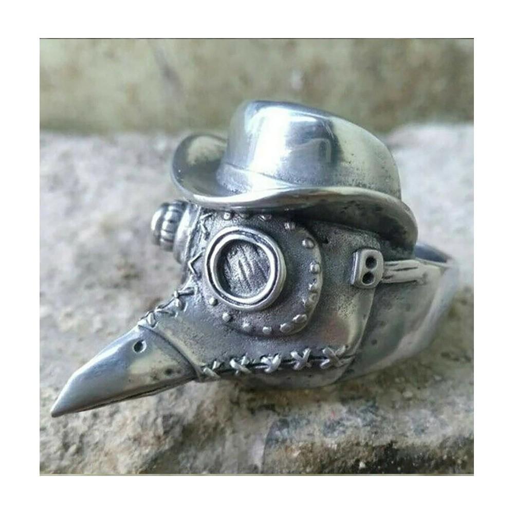 Pierścień Gotycki Steampunk...
